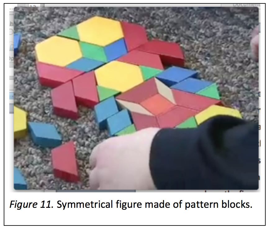 early math symmetry shapes blocks